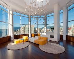round area rug modern living room upholstered furniture fireplace