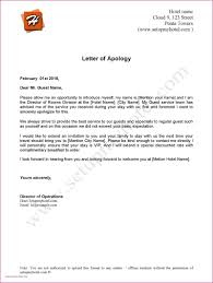 Apologize Business Letter Business Apology Letter For Inconvenience Free Letter Templates