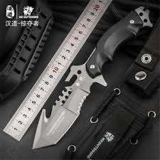 <b>HX OUTDOORS</b> Army Survival Knife Outdoor Tool <b>High Hardness</b> ...