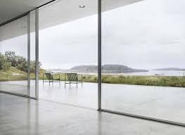 frameless sliding doors windows sky