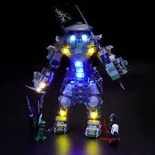 BRIKSMAX Led Beleuchtungsset für Lego NINJAGO Oni-Titan,Kompatibel Mit Lego  70658 Bausteinen Modell - Ohne Lego Set: Amazon.de: Spielzeug
