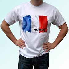 Cool Shirt Designs For Guys France Flag Design White T Shirt Top Tee Mens Classic Quality High Round Style Tshirt Tees Custom Jersey T Shirt Awesome T Shirts For Guys Cool Tee