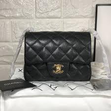 Chanel Designer Bags Chanel Woman Mini Classic Flap Bag Caviar Original Leather