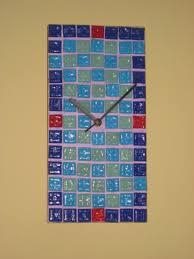 Simple Mosaic Art Designs Simple Clocks Simple Mosaic Clock Clocks Clock Mosaic