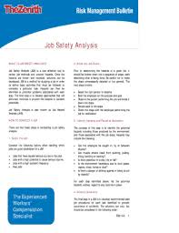 job safety analysis template job safety analysis template excel forms fillable printable