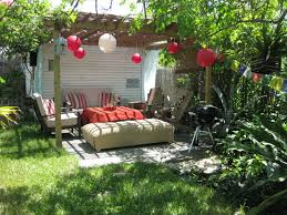 Image of: Backyard Barbeque Decorations Ideas