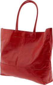 view full sizered leather market tote 120 bananarepublic com