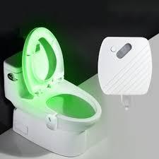 Bathroom Led Night Lights 24 Colours Motion Sensor Led Night Light Toilet Light Bowl Bathroom Lamp