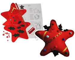 Unbekannt Bastelset Weihnachtsstern Kleiner Filz Stern