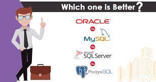 Postgres Vs Mysql Difference Between Oracle Vs Sql Server Vs Mysql Vs