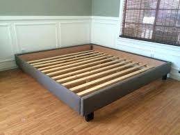California King Platform Bed Frame With Drawers King Bed Frames Bed ...