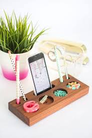 Diy office desk accessories Office Supply Diy Home Office Decor Ideas Modern Desk Organizer Do It Yourself Desks Tables Diy Joy 38 Brilliant Home Office Decor Projects