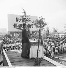 「1955年 - 長崎市の平和祈念像除幕式。」の画像検索結果