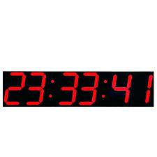 large atomic wall clock led atomic clock extra large digital atomic wall clock