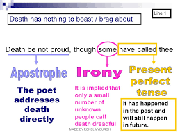 death be not proud john donne made by ronel myburgh ppt video the poet addresses death directly