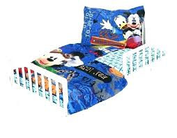 mickey toddler bed mouse bedding bundle full size of baby clubhouse disney comforter set mic