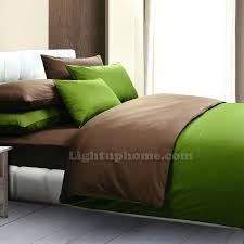 full image for green and coffee duvet cover solid bedding green duvet covers queen forest green