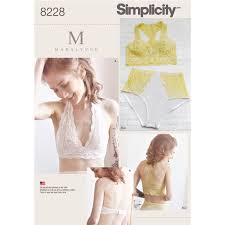 Bra Sewing Patterns Best Simplicity 48 Misses' Soft Cup Bras And Panties