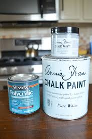 Chalk Paint Dining Room Table Chalk Paint Dining Table Makeover Little Vintage Nest