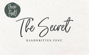 入力するだけで美しい筆記体フリーフォント86選 2019年改訂版