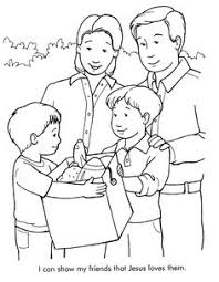 Small Picture coloring pages tell people about Jesus can tell my friends about