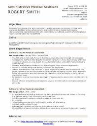 Administrative Medical Assistant Resume Samples Qwikresume