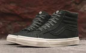 the vans sk8 hi has become a regular in lots of people rotation as it s one of those sneakers that you can easily rock with a pair of shorts or pants in