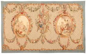 shrewd french aubusson rugs extremely finely woven 18th century
