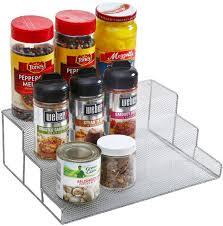 Tier Spice Rack 3 Tier Spice Rack Step Shelf Organizer Size 1175lx 825wx 4h