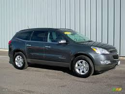 2009 Cyber Gray Metallic Chevrolet Traverse LT AWD #4223813 ...