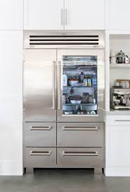 glass door fridge. Plain Fridge Heather Bullard A Contributing Editor For Country Living Magazine Writes  About Her Search Throughout Glass Door Fridge F