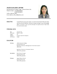 Amazing Sample Resume For Encoder Images - Simple resume Office .