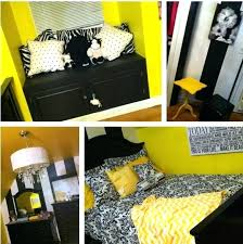black white and yellow bedroom ideas yellow black and white bedroom photos and black white