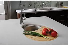 elkay mystic211420cb stainless steel the mystic stainless steel single basin undermount bar sink with 2 drain opening and cutting board faucet com