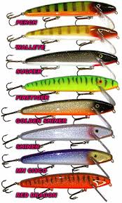 Crankbait Color Chart Musky Fishing Lures And Muskie Fishing Baits From Slammer