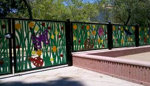 Beautiful Sheet Metal Fence Laser Cut Fencing Panels Suppliers Inside Decorating