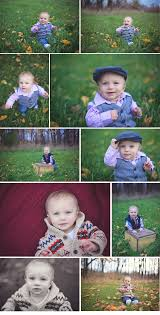 Outdoor fall 9 month old baby session | Fotografo, Ensaio, Ideias