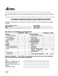 Inspection Form Alberta Insurance Inspection Form Fill Online Printable Fillable
