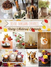 Natural Thankgiving Decorations That are DIY