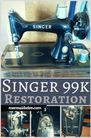 99k Heavy Duty All Metal Singer Sewing Machine With Attachments