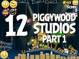 Angry Birds Seasons Piggywood Studios, Part 1! Level 1-12 ...