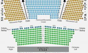wilbur seating chart mezzanine elcho table wilbur theater seating chart