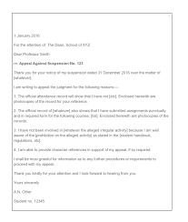 How To Write An Appeal Letter For College Top Form