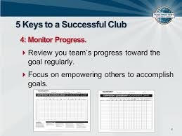 Competent Leadership Achievement Chart 1311c Club Leadership Training Session Charting A Course