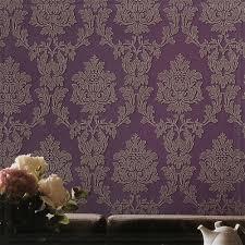 Purple Wallpaper Bedroom Royal Purple Wallpaper