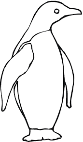 Emperor Penguin Coloring Page Beautiful Animals Town Animal Color