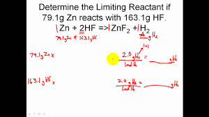 stoichiometry solving limiting reactant problems in stoichiometry solving limiting reactant problems in stoichiometry easy