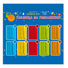 Times Tables Chart Clever Book