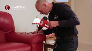 how we repair a tear in a leather sofa