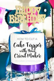 Cricut Maker Vs Explore Air 2 How To Make A Cake Topper Frog